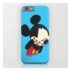 Mickey Smooch iPhone & iPod Case (£23) ❤ liked on Polyvore featuring accessories, tech accessories and iphone & ipod cases