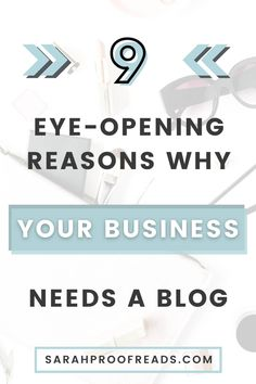 Trying to grow your business? Maybe these 9 eye-opening reasons why your business needs a blog will help you decide how! Don't miss out! blogging tips | entrepreneur | for beginner bloggers | freelancing | small business | content marketing | small business tips | small business marketing | digital marketing tips | SEO | make money online | entrepreneurship | small business tools #smallbusiness