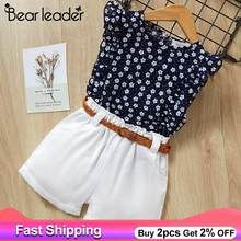 Bear Leader 2019 New Summer Casual Children Sets Flowers Blue T-shirt+ Pants Girls Clothing Sets Kids Summer Suit For Years Baby Girl Dresses, Baby Dress, Baby Girls, Kids Girls, Dress Girl, Baby Girl Fashion, Kids Fashion, Fashion Clothes, Short Outfits
