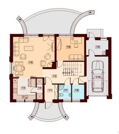 These two Contemporary Two Storey Home Idea are medium family home ideas. Home Design Floor Plans, House Floor Plans, Country House Plans, Small House Plans, Storey Homes, Bonus Rooms, Design Case, Pool Designs, Beautiful Homes