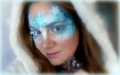 glitter face makeup designs - Google Search