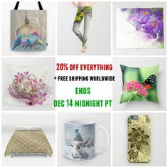 20% off everything #sale #deals #freeshipping #worldwide ends 12/14 Midnight PT. Check more at society6.com/julianarw