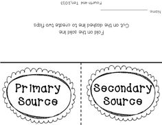 15 Best Primary vs secondary sources images | Secondary ...