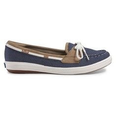 Keds Glimmer Women's Boat Shoes, Size: medium (6), Blue (Navy)