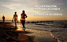 Recuperación postvacaciones con bonos descuento. 3d Assets, Video Footage, Royalty Free Images, Videos, Stock Photos, Sunset, Beach, Water, Illustration