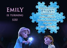 Items similar to Disney Frozen Birthday Party Invitation, Anna and Elsa as Kids - Birthday Party Invites Supplies on Etsy Disney Frozen Birthday, Kids Birthday Party Invitations, Frozen Party, Birthday Parties, Wedding Invitation Cards, Invites, Invitation Ideas, Girl Birthday, Elsa