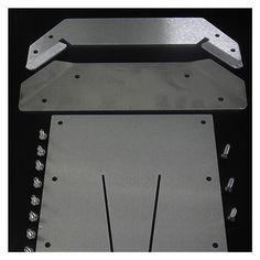 Dry Flush Laveo Portable Toilet Floor Mount Kit