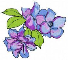 garden_flowers4_machine_embroidery_design.jpg. Machine embroidery design. www.embroideres.com