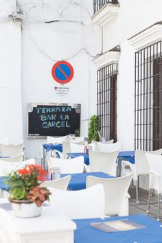 Outdoor dining area for Bar la Carcel in Arcos de la Frontera, where we were repeat customers many times during our stay Outdoor Dining, Dining Area, Andalusia Spain, Repeat, Times, Bar, Arches, Cadiz, Al Fresco Dinner