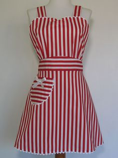 1950's apron. Love the fabric. Must remember.