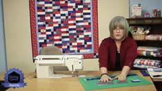 """Designer Susan Emerson designed a simple block and hopscotched it with its mirror image in this easy-to-sew throw. Quilt By: Susan Emerson Quilt Size: 53"""" x ..."""