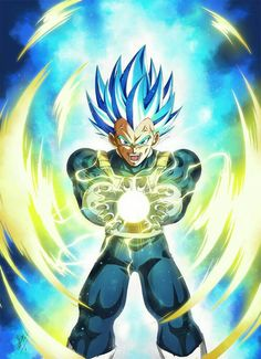 Vegeta Blue Diamond