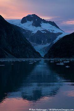 Northwestern Fjord, Kenai Fjords National Park,Seward, Alaska; photo by Ron Niebrugge