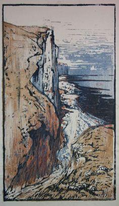 Henri Marret, Gravure sur bois polychrome