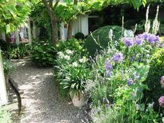 wat een prachtige tuin!