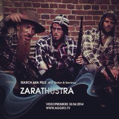 """Search aka Pille feat. Proton und Terminus - Zarathustra Videopremiere  Heute / Morgen 00.00 Uhr auf http://AGGRO.TV Mixtape """"Der erleuchtete Wahnsinn 2"""" als free Download auf http://searchakapille.com"""