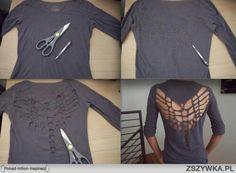 Diy t shirt back design