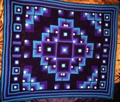 MANDALA geometric crochet rug ~ Free Pattern (She says it's a rug, but I would love it as an afghan! Just beautiful!) @Mitzi Flade Sampson Flade Sampson Flade Sampson Christian Aren't these your colors?