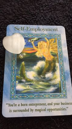 Good afternoon lovely friends,  Today's card is self-employment! It is well said! You were born as a natural entrepreneur! This is s great time to start or continue your spiritual based career! Enthusiasm, love, nutritious food, and exercise will help you to bring clients and prosper your business! You may face some challenges, but don't give up! Your business have a purpose!  Love you all!  Have a blessed day!  Please share, like, and comment below!  If you would like to have a personal…