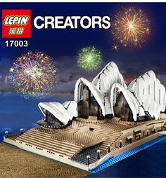 Creator Sydney Opera House Model Building Kits Blocks Bricks Educational - Blocks