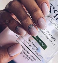 What manicure for what kind of nails? - My Nails Nude Nails, Nail Manicure, Nail Polish, Gel Pedicure, Milky Nails, Cute Nail Art Designs, Nail Design, Design Design, Maila
