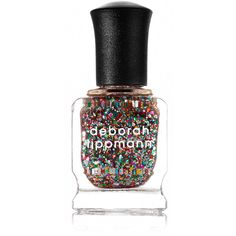 Deborah Lippmann Nail Polish - Happy Birthday (€21) ❤ liked on Polyvore featuring beauty products, nail care, nail polish, nails, beauty, makeup, asthetic, deborah lippmann, deborah lippmann nail polish and deborah lippmann nail lacquer