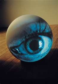 Tony Oursler )(  Video art