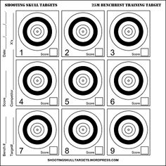 Shooting Targets, Shooting Sports, Shooting Range, Pistol Targets, Rifle Targets, Target Organization, Field Target, Bench Rest, Paper Targets