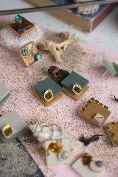 Earrings Handmade, Stud Earrings, Jewelry, Jewlery, Jewerly, Stud Earring, Schmuck, Jewels, Jewelery