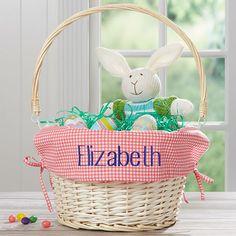 Craft Stick Crafts, Easy Crafts, Basket Liners, Easter Crafts For Kids, Easter Ideas, Easter Baskets, Handle, Drop, Pink