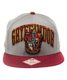 a3f4cba6870 Wicked Clothes presents  the Harry Potter Gryffindor Snapback! Ten points  to Gryffindor! Show some house pride with this officially licensed Harry  Potter ...