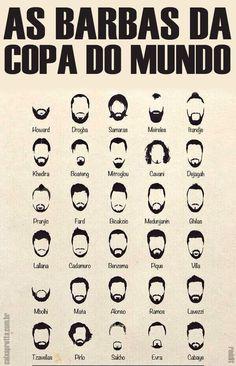 As Barbas da Copa do Mundo