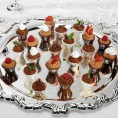 Candy Cordials and Liquor Cups  - If you're looking for something easy and elegant for desserts or party trays, here's a delicious idea. Serve candy shells filled with fruit, mousse or liqueur! We've made the candies shown here in the Wilton Cordial Cups Mold, but Wilton has many other products that will work beautifully. The procedure is much like that for making filled candy—without sealing the top.