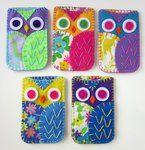 Owl Phone Cozies Felt by ~lovarevolutionary on deviantART