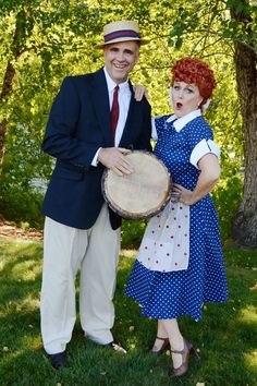 lucy and ricky - I Love Lucy Halloween Costumes