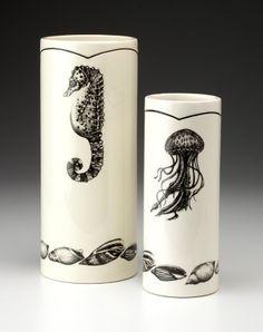 Laura Zindel vase set (Sea Life 2)