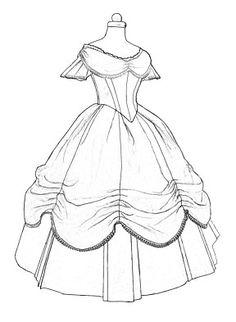 victorian gown pattern - Bing Imágenes