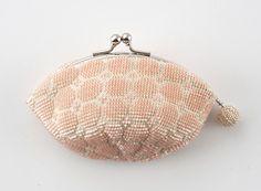 Nihon Vogue crochet beaded coin purse