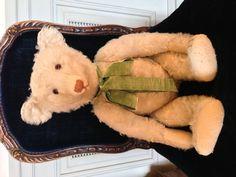 MY PRIZED :-) VINTAGE STEIFF TEDDY BEAR, 'ALBERT', c. 1920'S (NOT FOR SALE) - EK