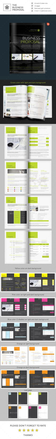Whole Corporate Identity Proposal Invoice Letter  Proposals