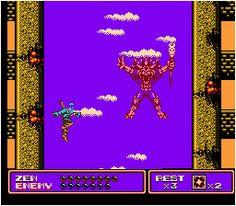 Zen: Intergalactic Ninja para NES. 90s Toys, Entertainment System, Ninja, Zen, Nintendo, Marvel, Entertaining, Toys Of The 90s, 1990s Toys