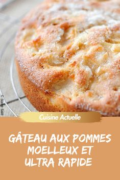 The super fast recipe for a very soft apple cake pies pies recipes dekorieren rezepte Best Vanilla Cupcake Recipe, Easy Vanilla Cupcakes, Cupcake Recipes, Dessert Recipes, Mousse Au Chocolat Torte, Birthday Brunch, Apple Cake, Food Cakes, Croissants