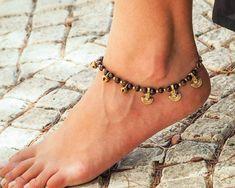 Made To Order Anklet // Women Ankle Bracelet // Brass bells Anklet // Indian Anklet // Hippie Anklet // Beach Anklet // Oriental Anklet