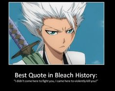 Funny Anime Memes » » Best quote in Bleach history…