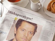 Twitter / Blondie_Val: Mishapocalypse even in the newspaper