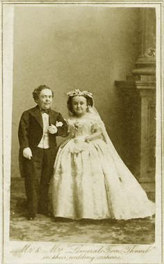 General & Mrs. Tom Thumb *haven't seen this photo in YEARS