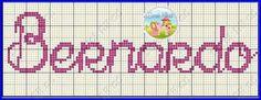 Cross Stitch, Names, Pattern, Small Cross Stitch, Female Names, Cross Stitches, Giraffes, Cross Stitch Alphabet, Guys