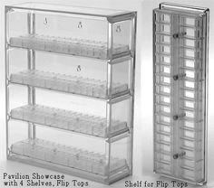 Bead Pavilion - Showcase & 4 Shelves, Sova Enterprises