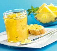 Ananas-Minze Fruchtaufstrich