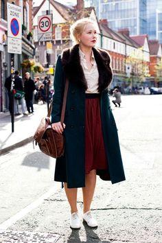 glamourmagazine'12 street style in london